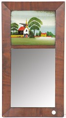 16. Antique Federal Mirror