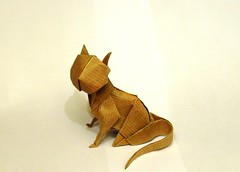 Cat (or(EST)igami) Tags: animal cat paper origami sitting jose voyer anibal iniesta