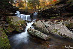 Rickett's Glen Fall (Marvin Foran Photography) Tags: fallleaves fall waterfall fallcolor pennsylvania falls waterfalls rickettsglen canon1740l rickettsglenstatepark pennsylvaniastateparks canon5dmarkii