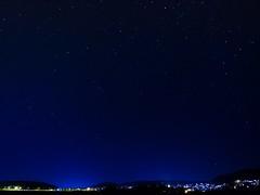 Oh My God - It's Full of Stars (haslo) Tags: blue night pen stars switzerland olympus bern ep3