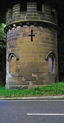 Round Tower Lodge (Mortarman101) Tags: night cheshire listedbuilding sandiway roundtowerlodge