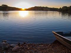 Sweet Serenity {Explored} (TnOlyShooter) Tags: sunset lake boat rocks sweet tennessee shore serenity maury nspp williamsportlakes
