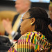 Nobel Peace Laureate Leymah Gbowee  participates in the high-level event \