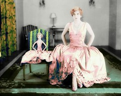 1928 (OFENA1) Tags: 1920s fashion doll dress actress gown