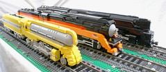 Streamliners of Sava Railways (SavaTheAggie) Tags: train daylight lego engine trains steam duplex locomotive hudson t1 dreyfuss prr streamliner streamliners