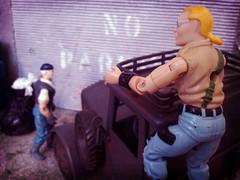 No patience... (FLATLINE54) Tags: scale truck real toy jones cobra action gang indiana joe plastic german american hero figure biker rah custom skunk gi hasbro buzzer 118 375 oring dreadnok flickrandroidapp:filter=beijing