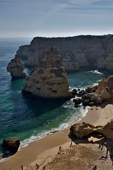 Marinha beach (Omar Parada) Tags: sea beach portugal sand pentax algarve marinha k5
