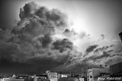 Ciutadella, sbado 29 de septiembre 2012. (50josep) Tags: blackandwhite nocturna menorca biancoenero ciutadella canon40d 50josep geomenorca geomenorcaonlythebest