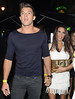 Katie Price, aka Jordan, and Leandro Penna Lauren Pope celebrates her birthday with friends at Anaya club London, England
