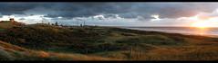 Wijk aan Zee (15). Evening falls over Tata (H. Bos) Tags: sun amsterdam strand herfst zon noordholland beverwijk ijmuiden wijkaanzee corus seaofsteel zeevanstaal