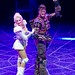 Starlight Express - Amanda Coutts as Pearl and Kristofer Harding as Rusty - credit Eric Richmond