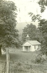 Public School Mathias, West Virginia (Mennonite Church USA Archives) Tags: westvirginia mathias mennonitecommunityeducationpublicschool whitmerschoolhouse