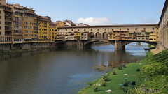 Ponte Vecchio (andbog) Tags: city bridge italy canon river florence italia widescreen it powershot ponte tuscany firenze arno toscana 169 pontevecchio compactcamera g12 16x9 canong12