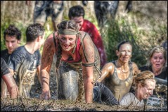 The swamp (Barney - Ian B) Tags: girls muddy warwickshire thewolfrun