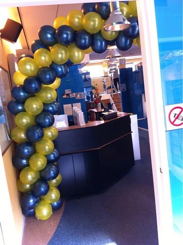 Ballonboog 6m Arthron Centrum voor Medische Fitness Rotterdam