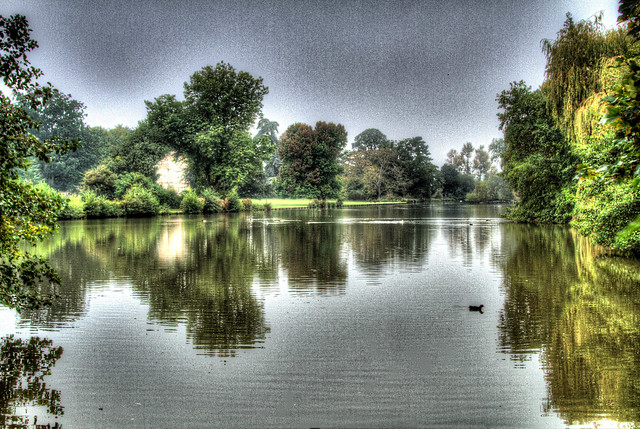 The Lake, The Vyne, Hampshire