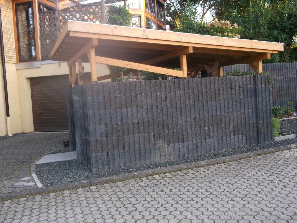Charming Carports Und Unterstände (DerGartenSARL) Tags: Auto Garage Jardin Holz  Metall Garten Luxemburg Carport