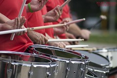 Drum Corps (onthemarkphotos) Tags: pennsylvania drumming havertown drummersdrumscloseup drumcorpsmarchingbandparade drumsticksplaying