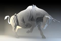 Bull 888 Toro - www.HighCulture.eu (5) (contemporary and modern art) Tags: steel arc bull van 888 samuel cavalli toro olivier stainless 2012 wijk puk rvs stier staal roestvrij roestvast