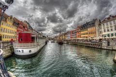 Nyhavn (KonHenrik) Tags: d7100 danmark denmark kbenhavn copenhagen samyang8mm hdr 2016 nyhavn