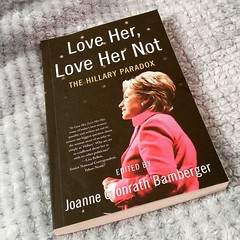 Currently reading. I haven't read a book in AGES (too busy / scatterbrained / stressed / depressed / ill), and with the presidential election coming up, this book seems like an appropriate choice. #LoveMeLoveMeNot #TheHillaryParadox #JoanneCronwrathBamber (Jenn ) Tags: ifttt instagram
