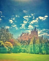 Al qasr (CiccioNutella) Tags: alcazar segovia spain unesco site castillayleon pradera smartphone sonyz3 sonyz3compact sonyxperiaz3compact snapseed castle