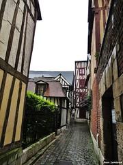 Rouen - Rue des Chanoines (JeanLemieux91) Tags: rouen hautenormandie normandie france juin junio june 2016 printemps primavera spring pluie lluvia rain anglonormand tudor