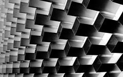 Bjarke Ingels's Serpentine Pavilion part 2 (jbarry5) Tags: bjarkeingelssserpentinepavilion serpentinepavilion london unitedkingdom monochrome blackandwhite geometry abstract bjarkeingels
