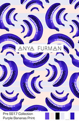 Anya_Furman_Purple_Bananas (Anya Furman) Tags: pre ss17 collectionpurple bananas fabricdesign textiledesign anyafurman fabric fashiontextilecollection freelancetextyledesigner texiledesigner milanodesign fashiontrend pattern patterndesign purple theanyafurman fabricdesignlabmamber patternobserver strypes stripes octopus rose black white textilepattern trendy fashiontrends seahorse green aqua apois circles geometrical conversational