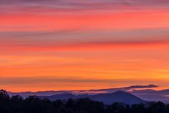 Smoky Mountain Sunrise (K. Stewart) Tags: gsmnp greatsmokymountains greatsmokymountainsnationalpark smokies smokymountains tennessee easttennessee gatlinburg sunrise canon canon6d canon100400mm