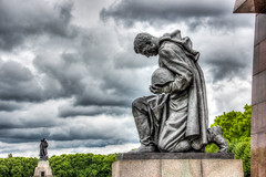 IMG_4941_2_3_tonemapped-2 (Andr Leonhardt) Tags: monument denkmal beauty berlin building architektur clouds colors city cemetery deutschland friedhof hdr himmel heaven hauptstadt capital wolken metropole town treptow mahnmal ehrenmal
