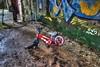 Un enfant malheureux (urban requiem) Tags: vélo bike bicyclette cassé broken bicycle urbex urban exploration abandonné abandoned verlassen verlaten lost old decay hdr 600d 816 sigma usine factory centrale oxygène france centraleoxygene
