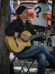 2016-08-18_StreetMusicianDaily231-366 (vickievilla) Tags: busker musician guitar instrument montreal performer