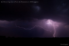 clair 3 (Chronique d'un chasseur d'images) Tags: clair foudre lightning flash orage tonnerre storm thunder thunderlight thunderstorm night nuit