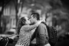 We Found Love Right Where We Are (Anna Kwa) Tags: kiss lovers love moment amsterdam bridge canal netherlands europe annakwa nikon d750 afsnikkor70200mmf28gedvrii my theone dream always eyes seeing heart soul throughmylens soclose faraway haveyouever people travel world feel round memories