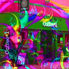 Fresh coffee aroma - Who can resist? (Lemon~art) Tags: coffee shop smell aroma senses mannequin treatthis kreativepeople food eat cafe placetoeat streetcafe
