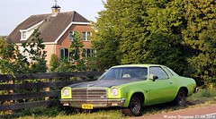 Chevrolet Chevelle Malibu 1974 (XBXG) Tags: 59fbnj chevrolet chevelle malibu 1974 chevroletchevelle coup coupe green vert groen nederland holland netherlands paysbas vintage old classic american car auto automobile voiture ancienne amricaine amerikaans us usa bodegraven