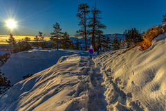 Sugar Mountain (BlueberryAsh) Tags: brycecanyon usa sunsetpoint snow winter sunrise clouds cloudsstormssunsetssunrises nikond600