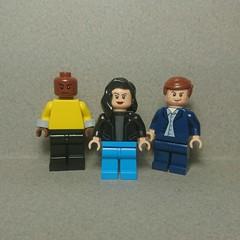 Jessica Jones [TV series] (Vladislav Pavlovich) Tags: lego custom minifigures lukecage jessicajones kilgrave marvel netflix