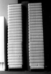 Queen St office , Architecture school design project B+W sheet 015 09 (Graeme Butler) Tags: school melbourneuniversity history heritage government design culture architecture melbourne victoria australia