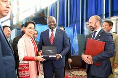 CTBT Ratification - Swaziland and Myanmar