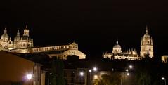 Salamanca (Espaa) (jc.mendo) Tags: jcmendo canon 7d 1855 salamanca espaa spain catedral clerecia nocturna