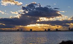 Atardecer en San Javier (Fotgrafo-robby25) Tags: atardecerenelmarmenor fujifilmxt1 lopagnmurcia marmenor nubes rayosdesol salinasyarenalesdesanpedrodelpinatar