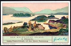 Liebig Tradecard S1318 - The Lakes of Killarney (cigcardpix) Tags: tradecards advertising ephemera vintage liebig ireland