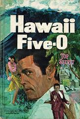 Novel-Hawaii-Five-O-Top-Secret (Count_Strad) Tags: novel cover art coverart book western scifi wwii