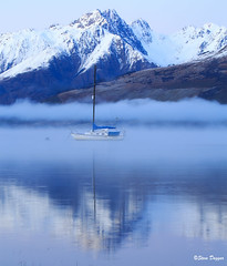 0S1A2661 (Steve Daggar) Tags: glenorchy newzealand sunrise landscape mountains snowcappedmountains reflections reflection lake queenstown