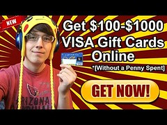 How To Get A New Visa Gift Card For Free | Giveaway [Working September 2016] Review (harisrehman1) Tags: how to get a new visa gift card for free | giveaway working september 2016 review
