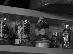IMG_1015 (asherwilcox) Tags: photography bnw bw blackandwhite bandw spooky antiques contrast dslr old retro vintage architecture buildings doll dolls toys orange colors blue raisins strange esoteric ubuquitous light dark kansascity city film