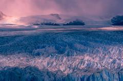 Blue Veins in Pink (Ping...) Tags: losglaciaresnationalpark peritamorenoglacier patagonia argentina light rays glacier dramatic veins blue pink ice