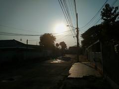 6:00 am (vitinhoscrates) Tags: urban sun sunset sunshine am street world horizon rj riodejaneiro brazil brasil southamerica americadosul composition